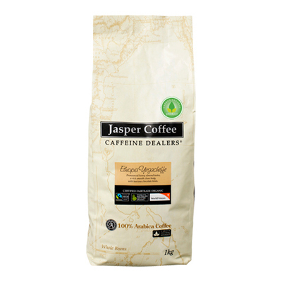 Jasper Ethiopian Yirgacheffe coffee beans PRE-ORDER NOW for delivery mid November