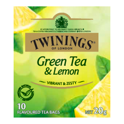 Twinings Green Tea and Lemon