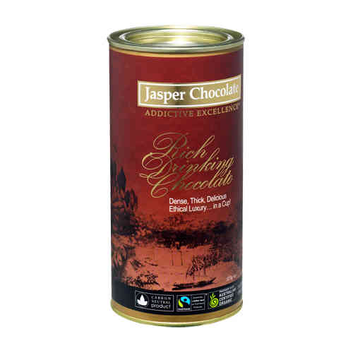 Jasper Drinking Chocolate 375g OVERSTOCK CLEARANCE