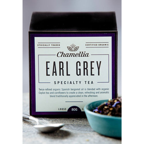 Chamellia Earl Grey tea Loose Leaf 80g