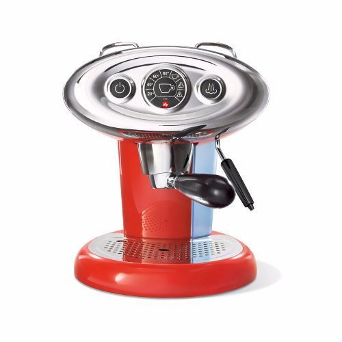 Illy Francis Francis X7.1 Coffee Machine Red with FREE illy Le Tazzine set (limited stock)