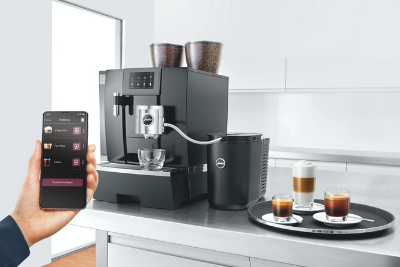 Contactless-office-coffee-machine